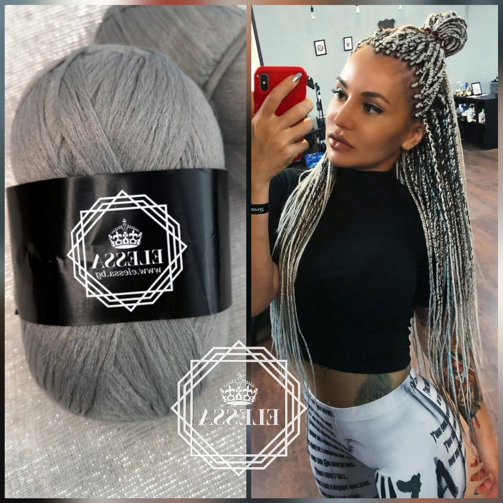 Brazilian Yarn For Braids High Quality Acrylic Wool For Hair Intended For Most Recently Released Jumbo Twists Yarn Braid Hairstyles (View 5 of 20)