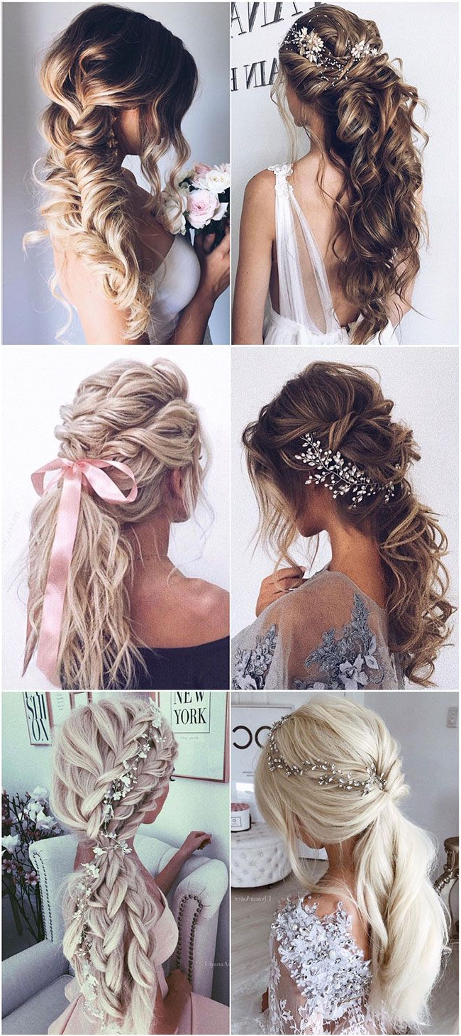 Bridal Hairstyles – Sayfa 2 – Androgynous Haircuts , Short With Most Up To Date Messy Curly Mermaid Braid Hairstyles (Gallery 19 of 20)