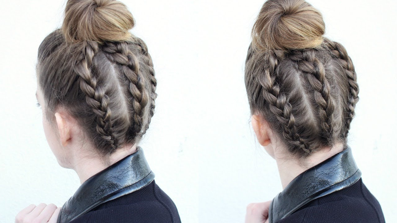 Bun Hairstyles (View 3 of 20)