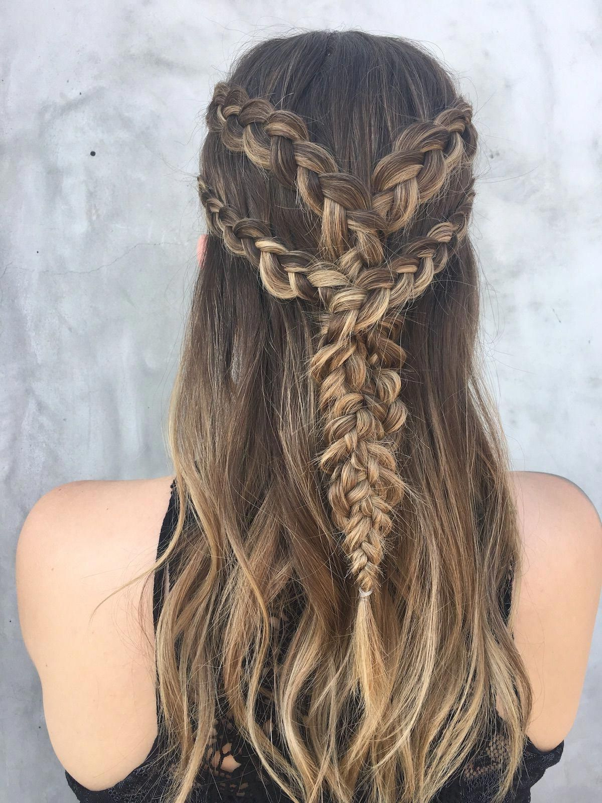 Channel Your Inner Khaleesi With This Game Of Thrones In Newest High Waterfall Braided Hairstyles (View 7 of 20)