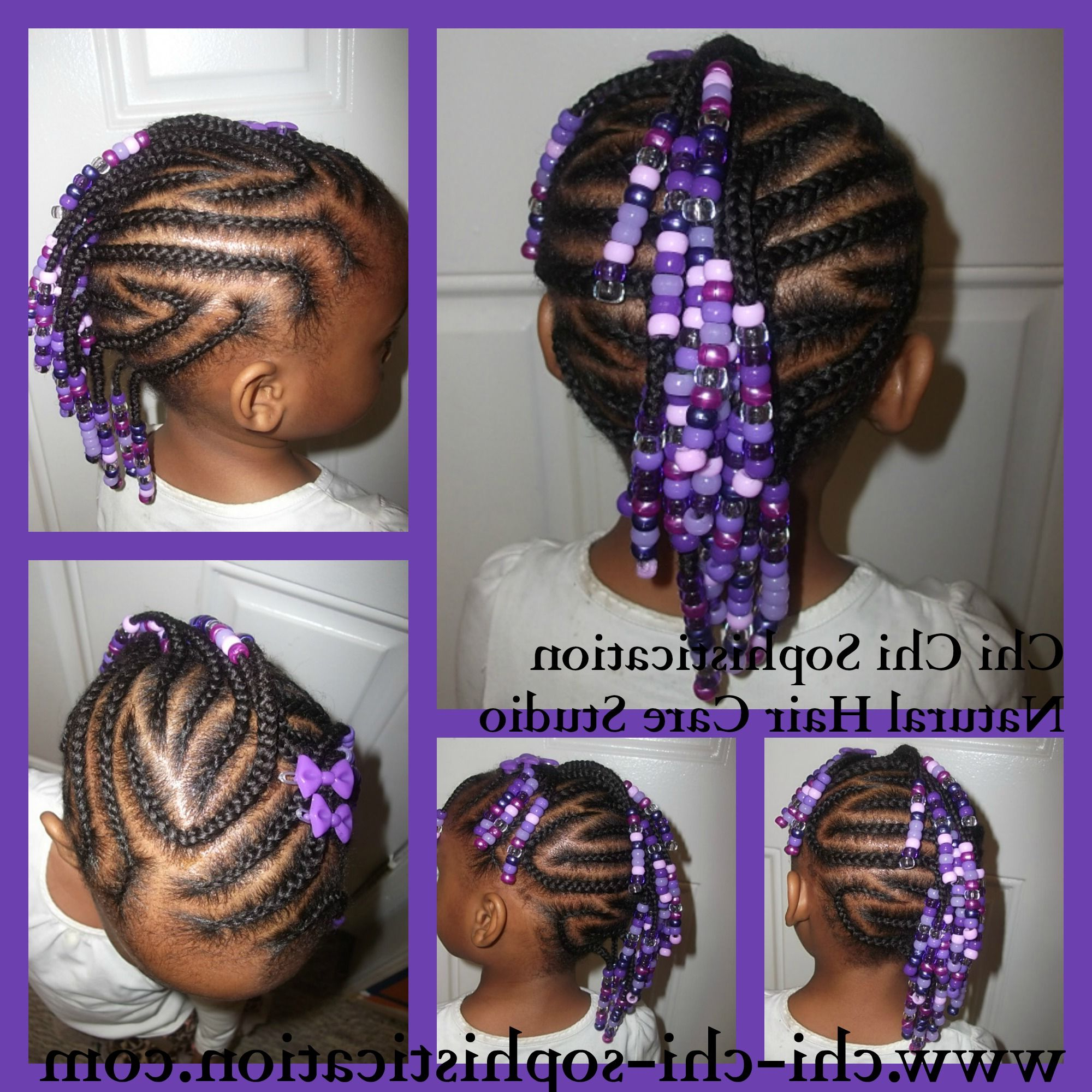 Children Hair For Best And Newest Mohawk Braided Hairstyles With Beads (View 2 of 20)