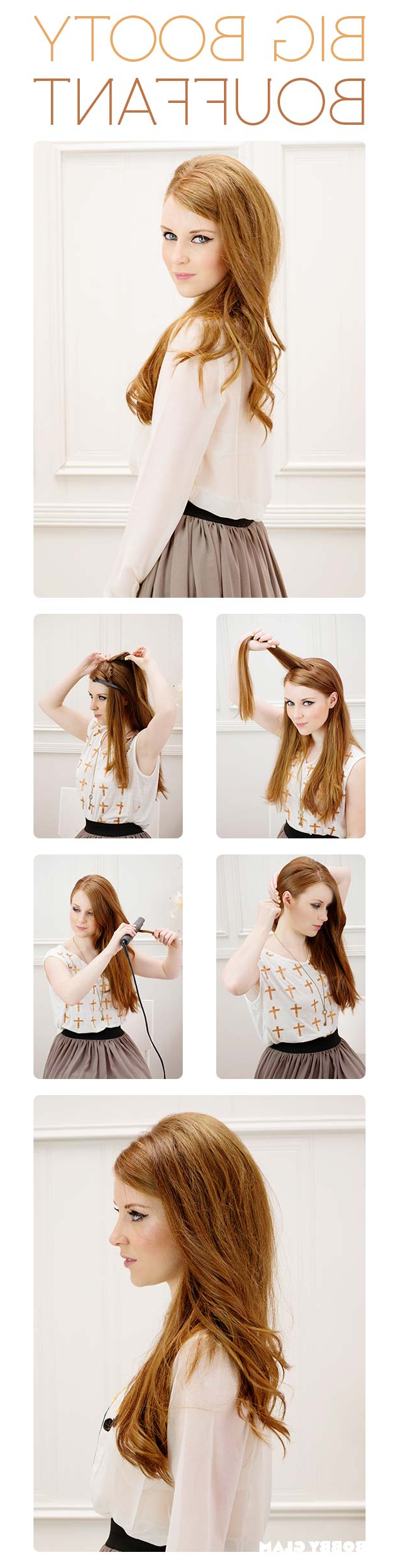 Craftionary Regarding Popular Braids And Bouffant Hairstyles (View 14 of 20)
