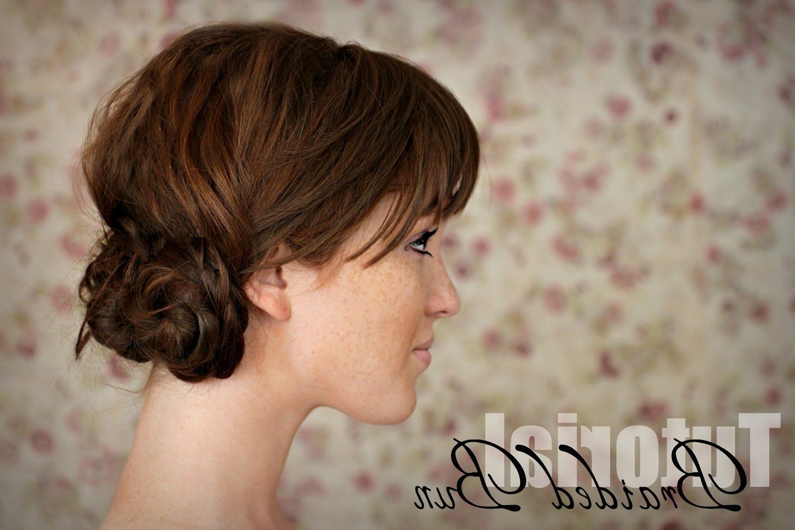 Current Cinnamon Bun Braided Hairstyles Pertaining To The Freckled Fox: Hair Tutorial // Braided Bun (View 11 of 20)