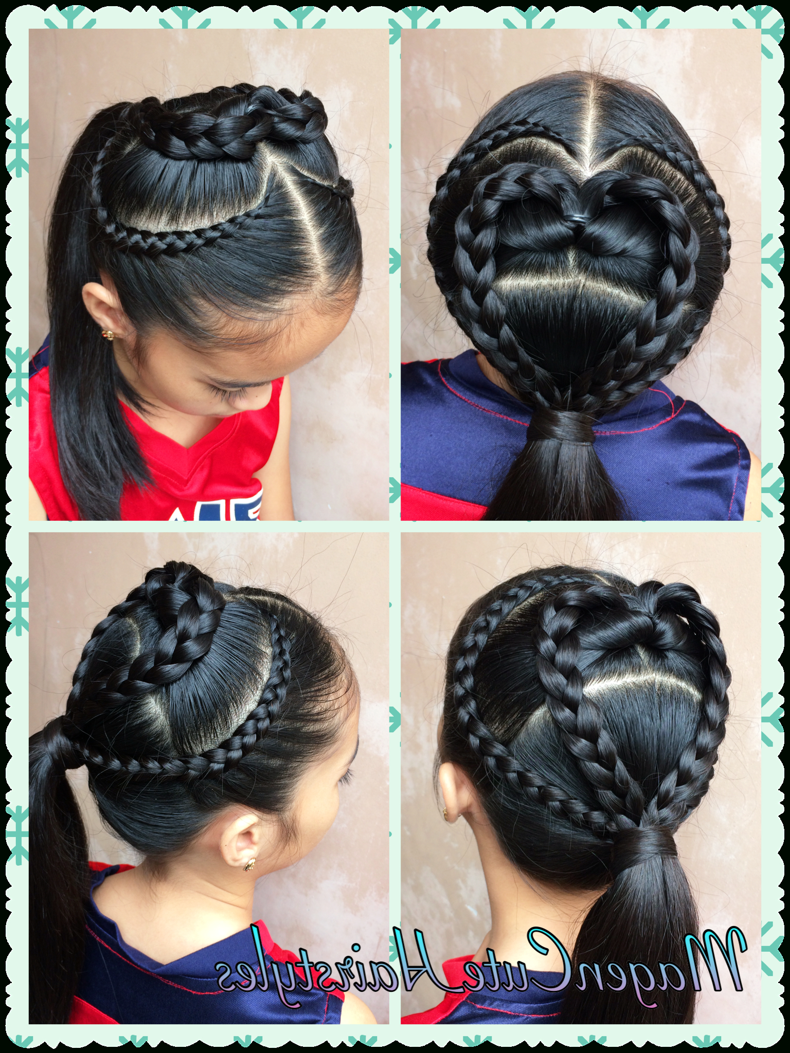 Current Heart Shaped Fishtail Under Braid Hairstyles For Heart Shape Lace Braid/pull Through Style (View 5 of 20)