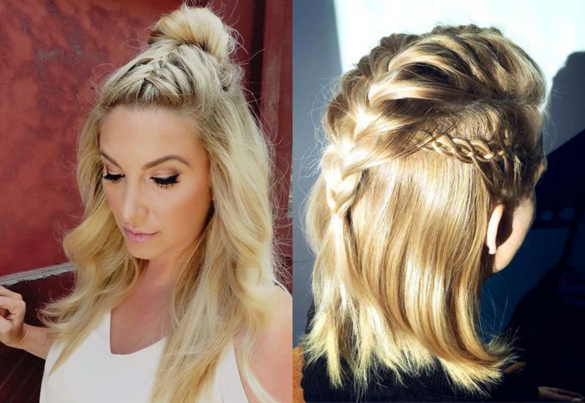 Current Layered Bob Braid Hairstyles Inside French Braids Hairstyles For A Chic Look Any Day (View 18 of 20)