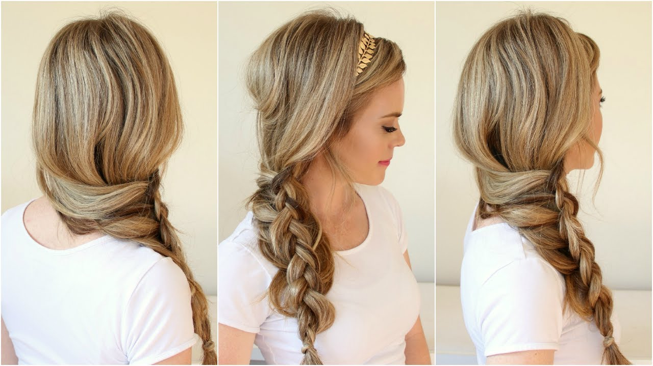 Current Mermaid Crown Braid Hairstyles For Braid 8 Dutch Mermaid Side Braid (View 12 of 20)