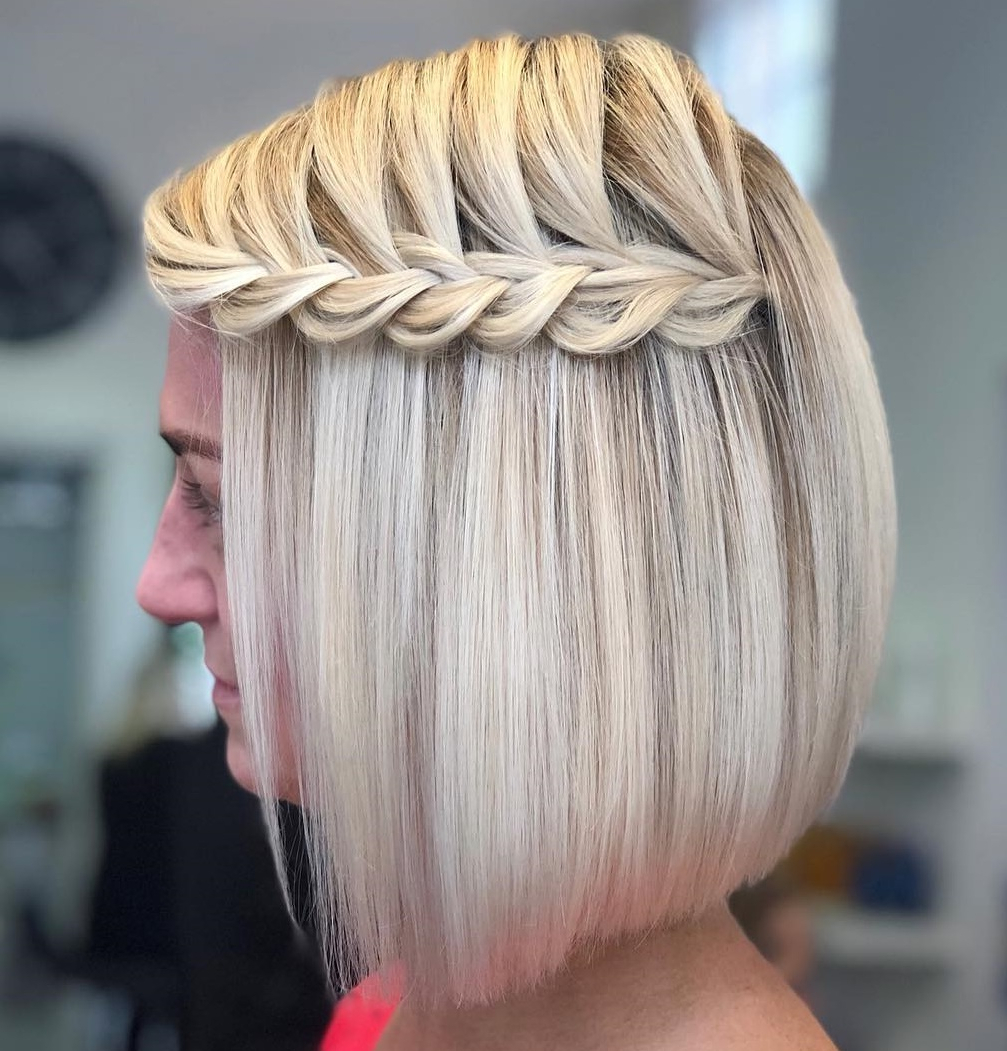 Current Short Stacked Bob Micro Braids With Regard To The Best 2019 Short Hairstyles For Every Face Shape And Hair (View 7 of 20)