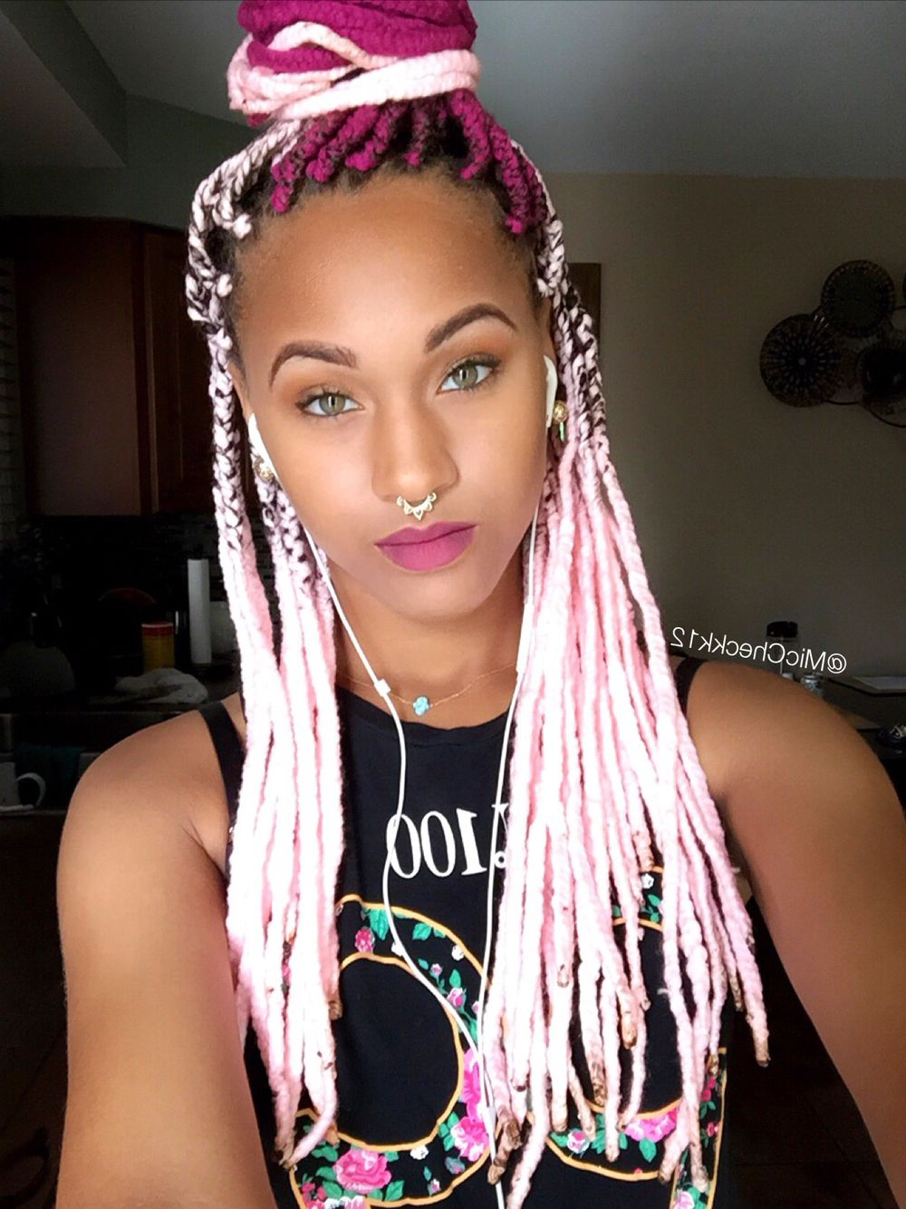 Current Side Swept Yarn Twists Hairstyles With Pinterest (View 17 of 20)