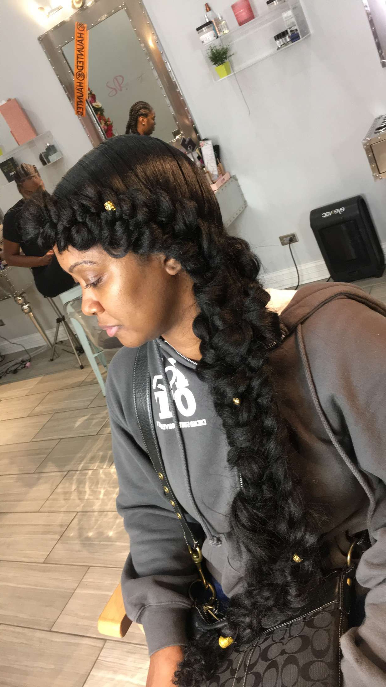 Current Tapered Tail Braided Hairstyles Throughout Mermaid/ Butterfly Braid (View 4 of 20)