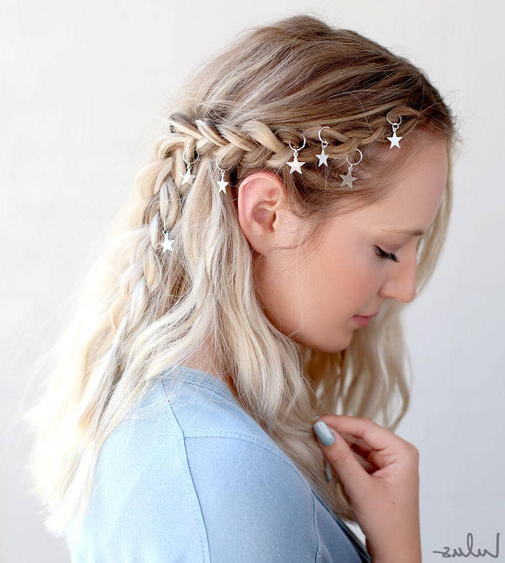 Current Tight Braided Hairstyles With Headband Within 25 Effortless Side Braid Hairstyles To Make You Feel Special (View 10 of 20)