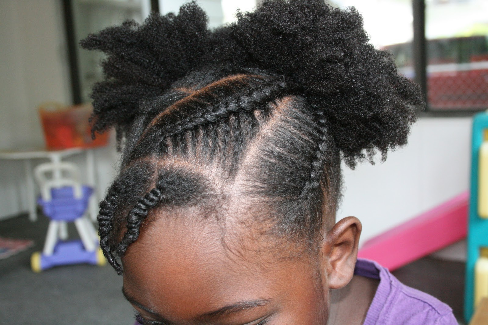 Current Tipped Box Braid Spiral Bun Hairstyles Inside Keep Me Curly!: July (View 19 of 20)