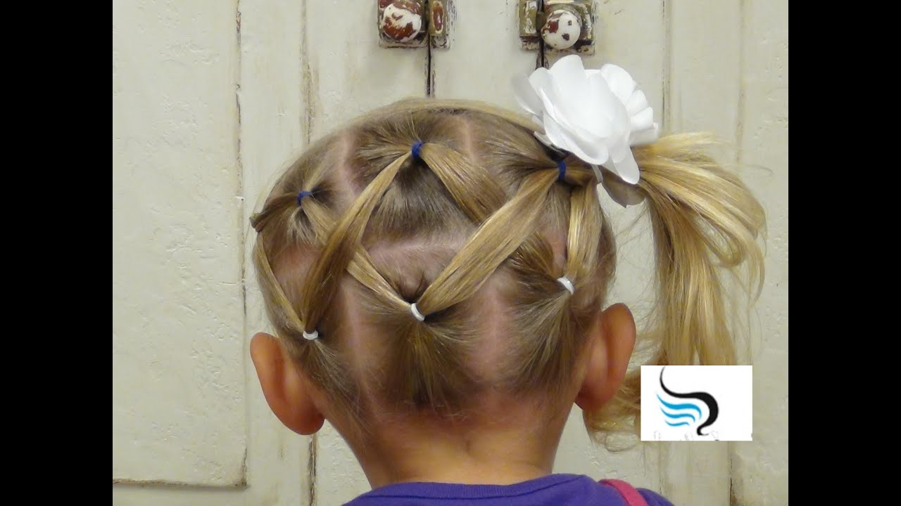 Cute And Simple Horizontal (Zigzag Ponytail Hairstyles) Within Latest Zig Zag Ponytail Updo Hairstyles (View 6 of 20)