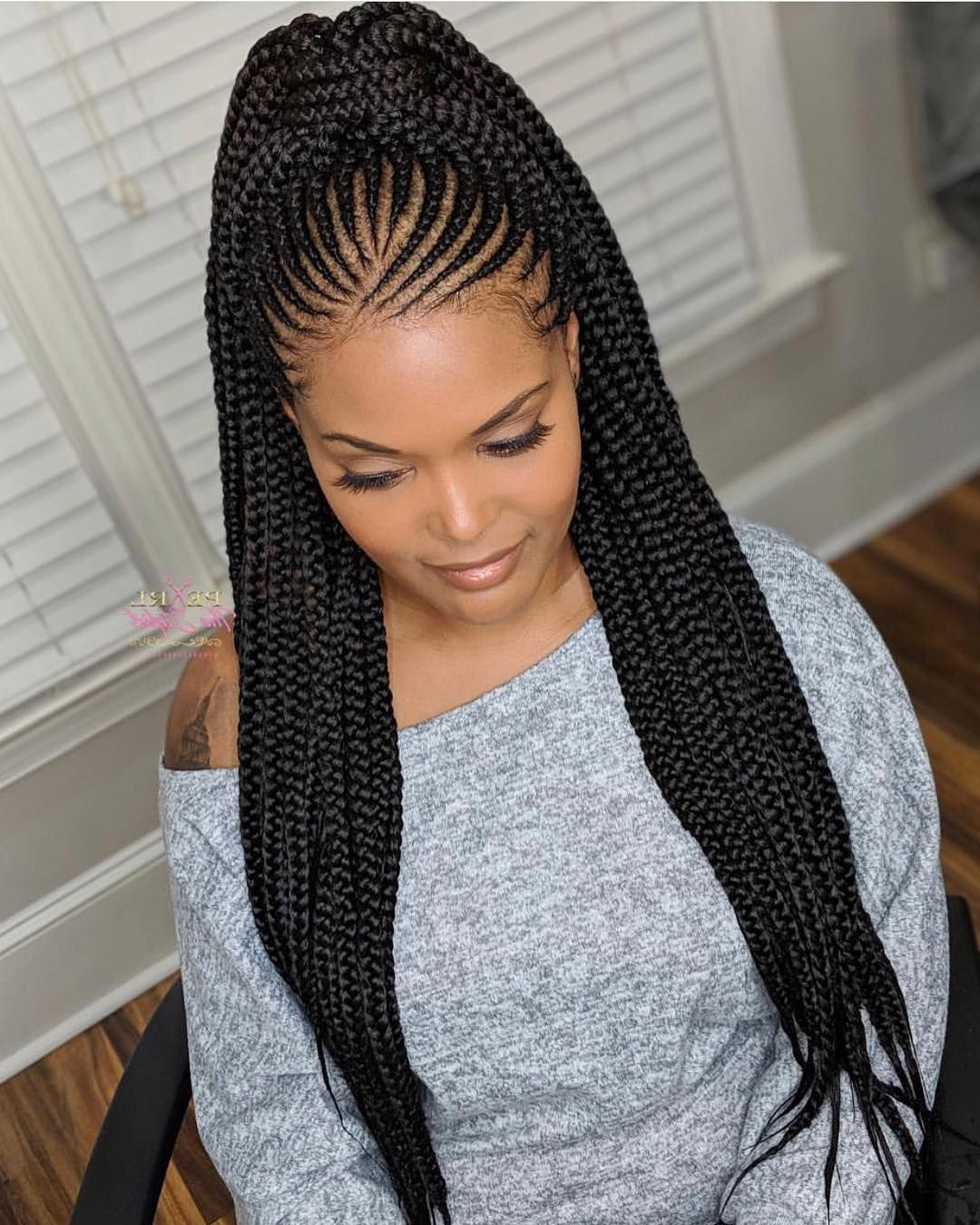 Cute Braids Styles 2019 : Make Your Look Attractive Inside Favorite Braided Braids Hairstyles (View 8 of 20)