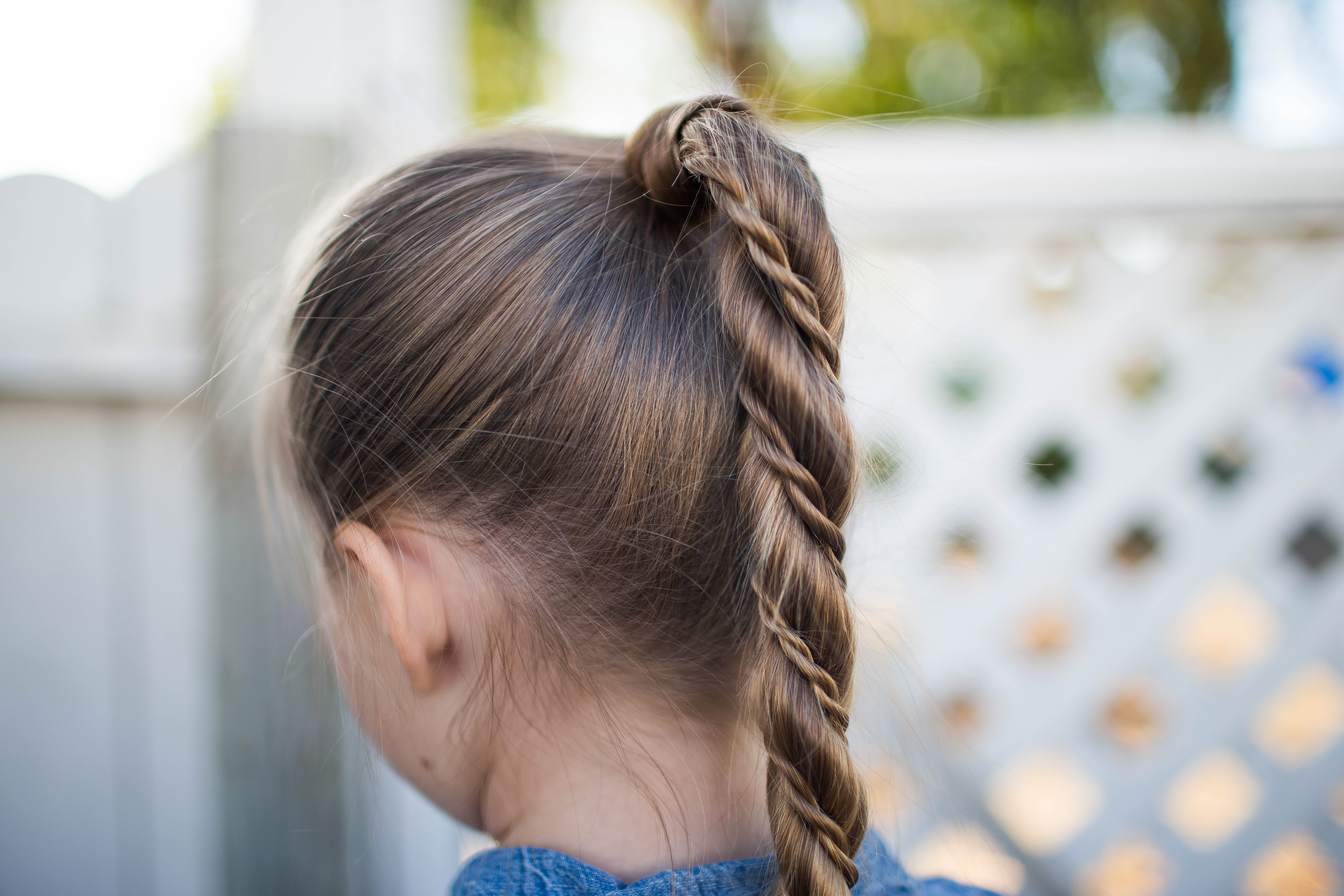 Cute Girls Hairstyles Pertaining To Most Up To Date Wrapped Ponytail Braid Hairstyles (View 6 of 20)