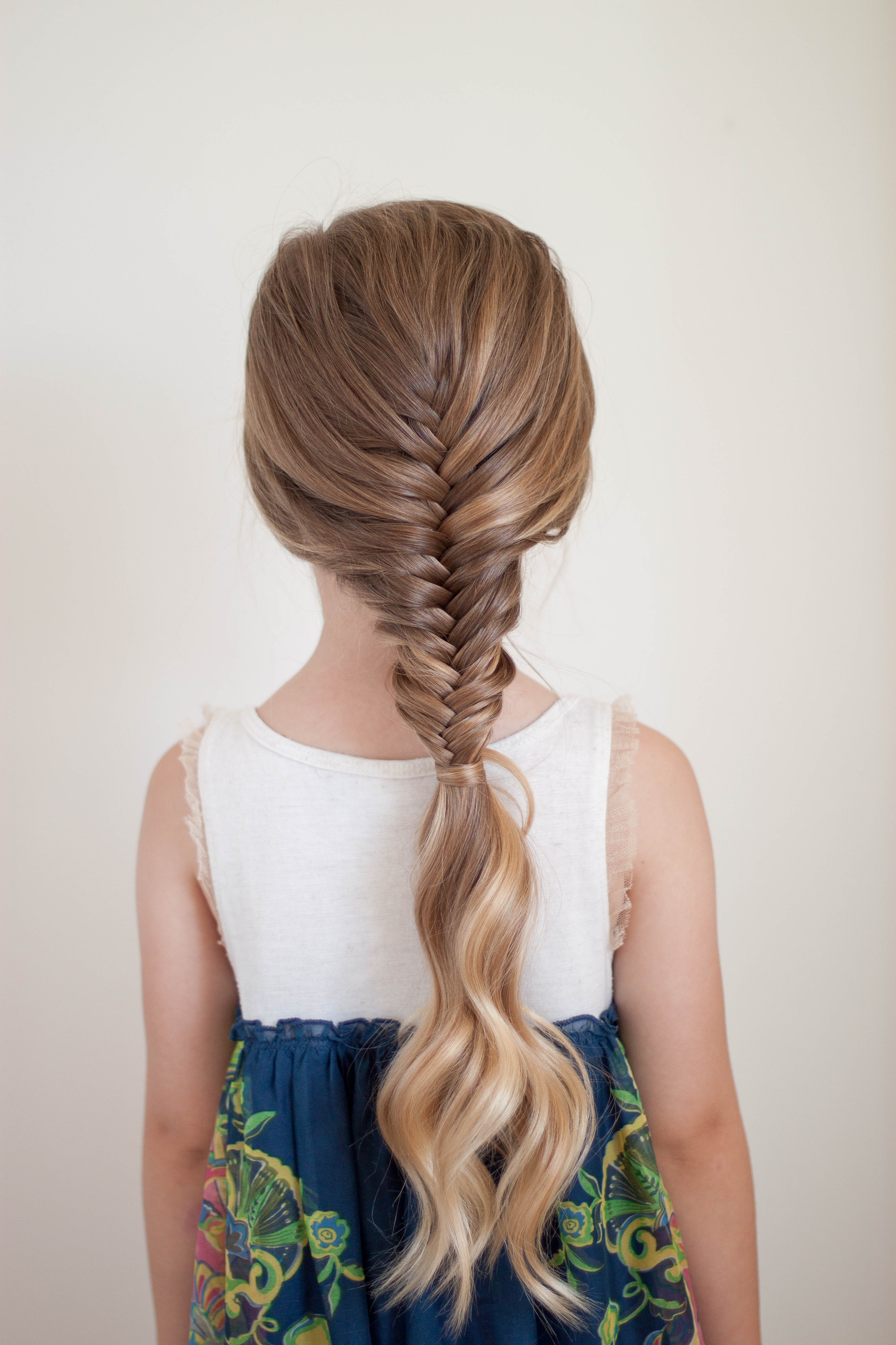 Cute Girls Hairstyles Regarding Most Recently Released Micro Braids In Side Fishtail Braid (View 8 of 20)