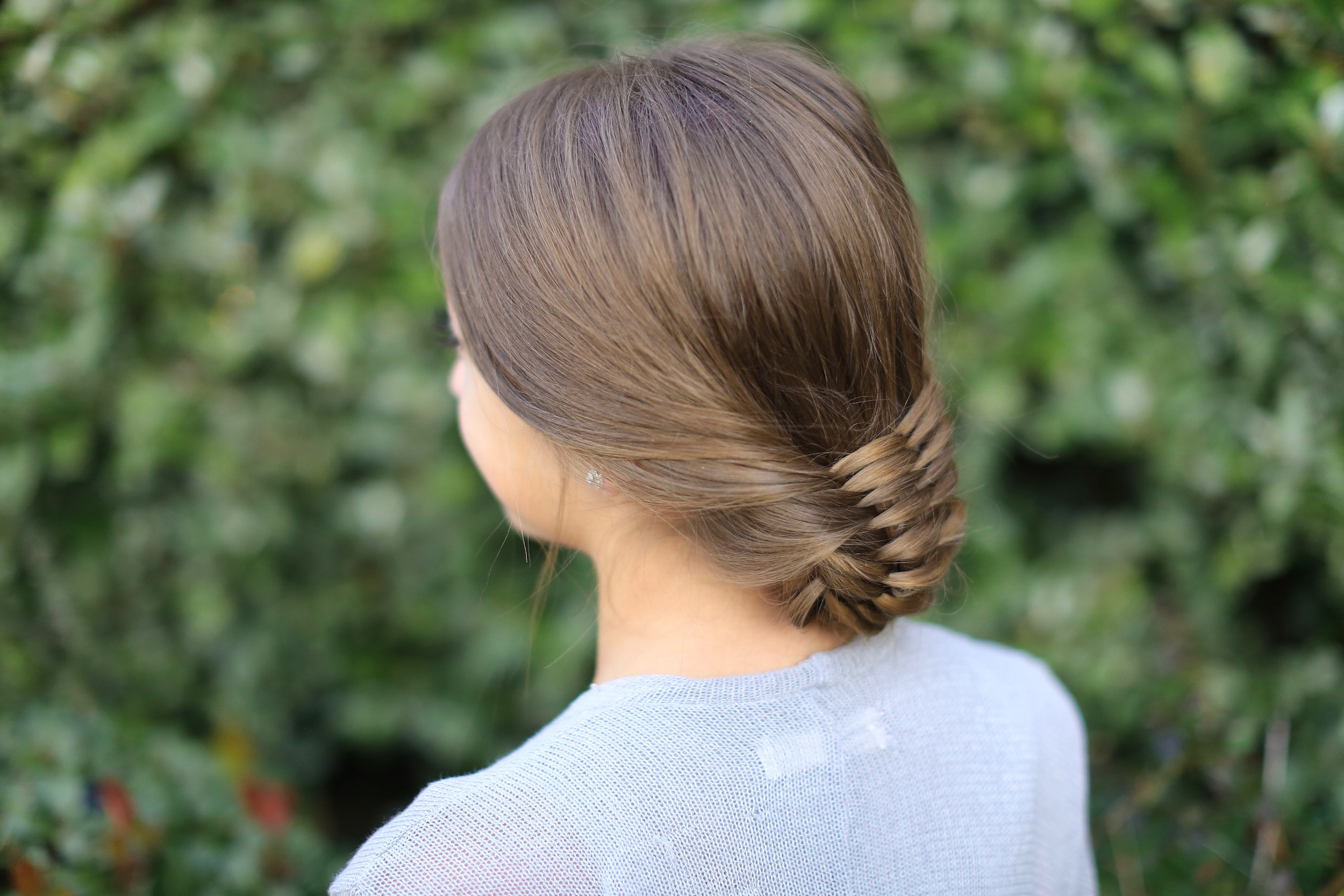 Cute Girls Hairstyles Throughout Famous Brown Woven Updo Braid Hairstyles (View 15 of 20)