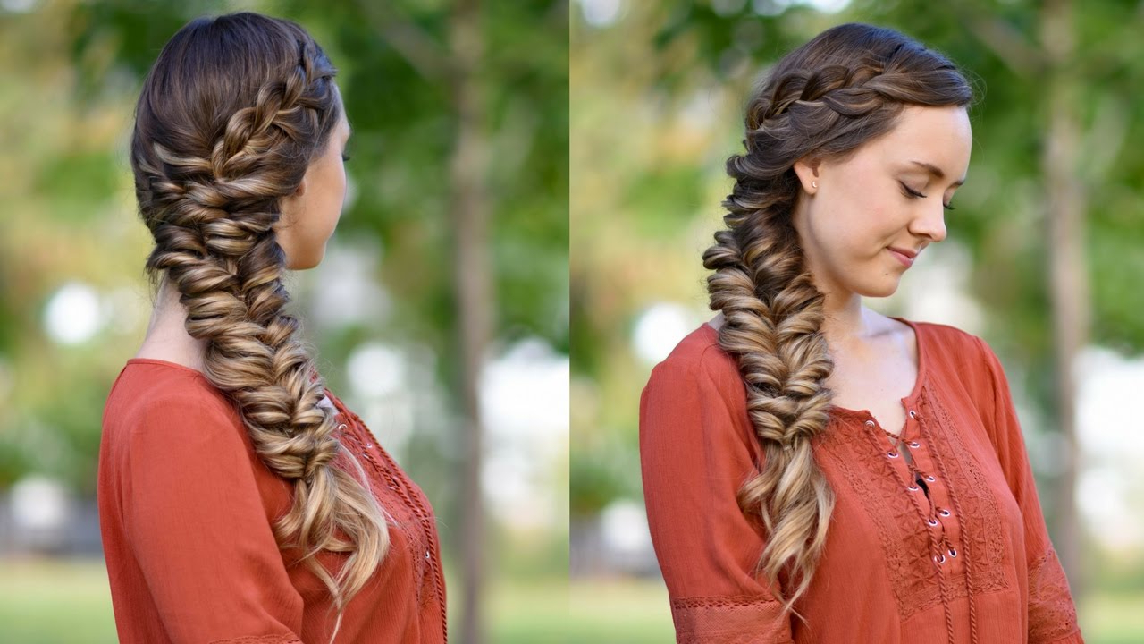 Cute Girls Hairstyles With Well Known Dramatic Side Part Braided Hairstyles (View 11 of 20)