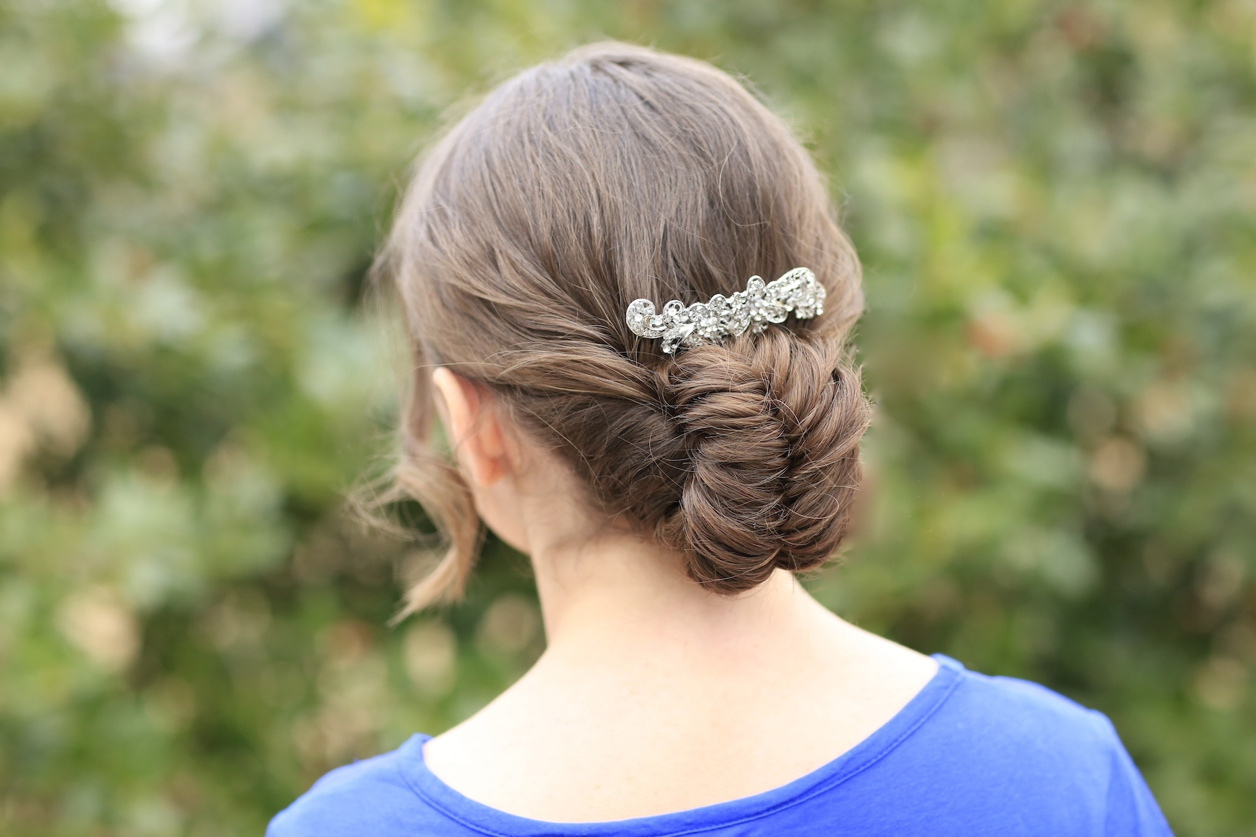 Cute Girls Within Most Popular Fishtail Braid Updo Hairstyles (View 3 of 20)