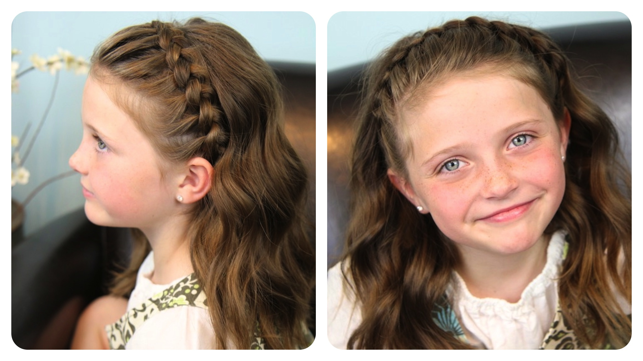 Cute Girls Within Trendy Full Headband Braided Hairstyles (View 9 of 20)