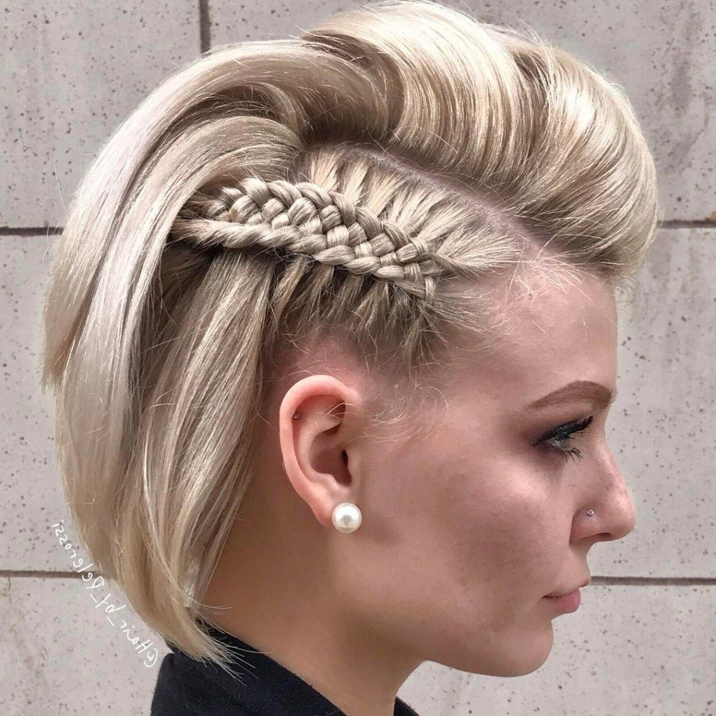 Прически For Recent Bob Braid Hairstyles With A Bun (View 5 of 20)