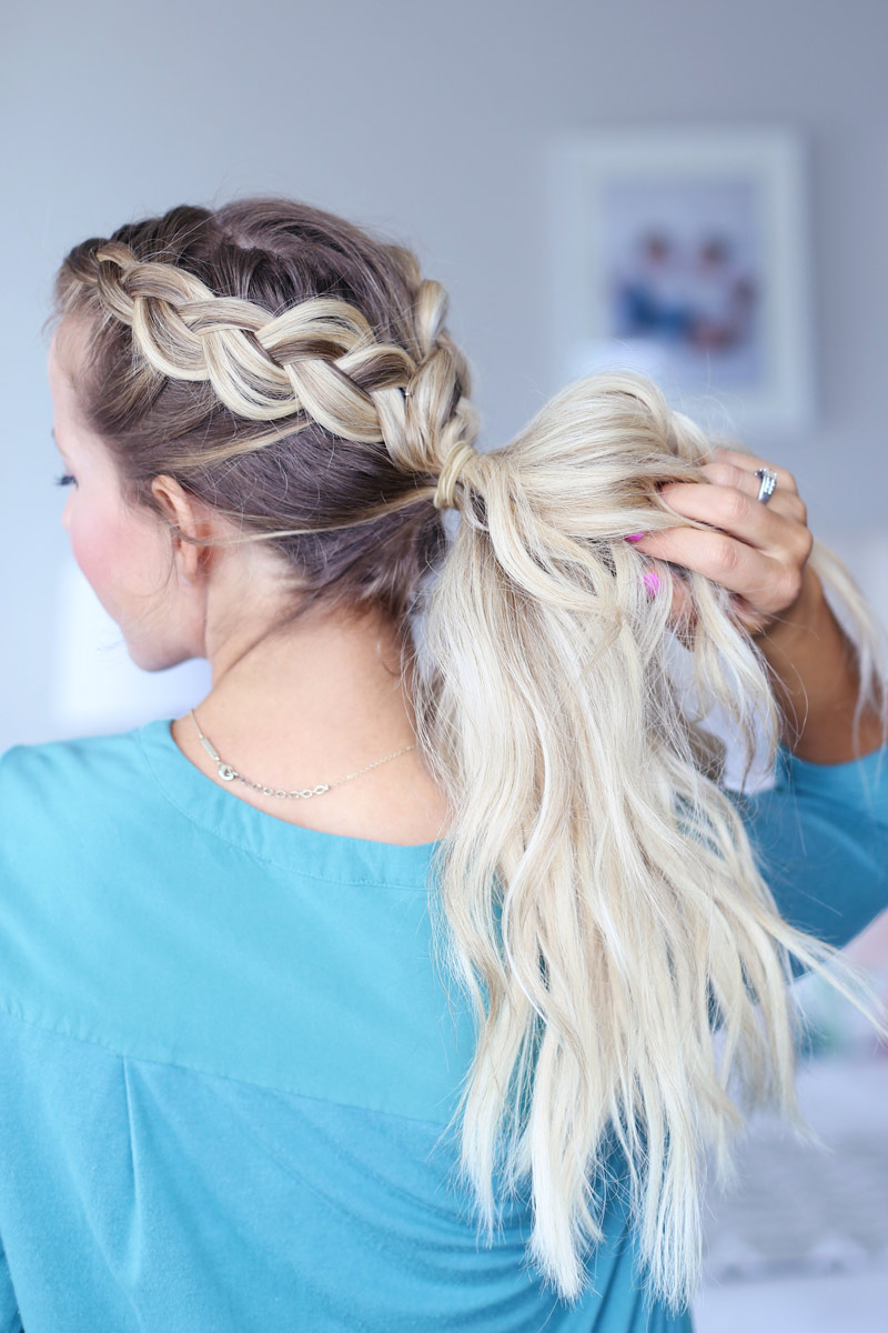 Day To Night Dutch Braid Hairstyles + 2 Ways To Wear Them! In Trendy Blonde Braid Hairstyles (Gallery 10 of 20)