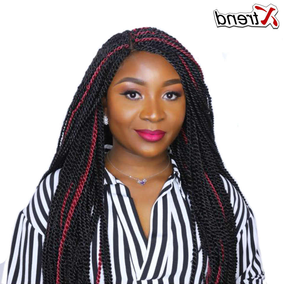 Detail Feedback Questions About Desire For Hair 14inch 80g With Current Zebra Twists Micro Braid Hairstyles (View 10 of 20)