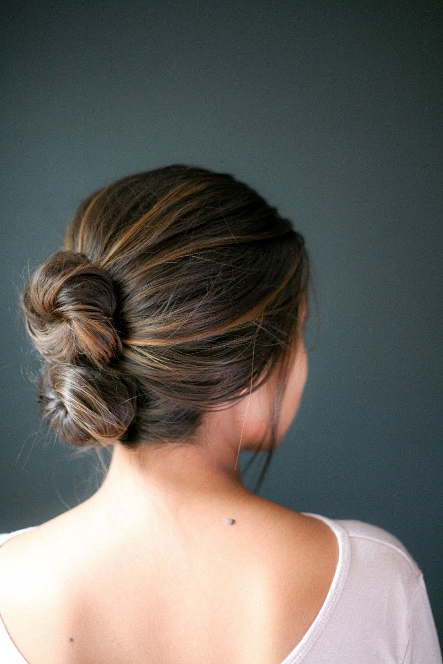 Dirty Hair, Don't Care! 17 Second Day Hairstyles We Love In For Best And Newest Stacked Buns Updo Hairstyles (View 2 of 20)