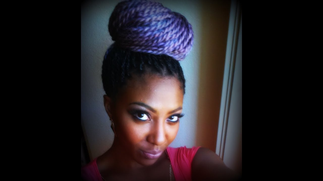 Diy Pastel Purple Senegalese Twist (Gallery 4 of 20)