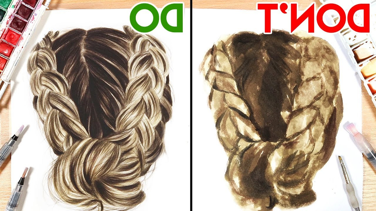 Do's & Don'ts, How To Paint Hair With Watercolor (Gallery 20 of 20)