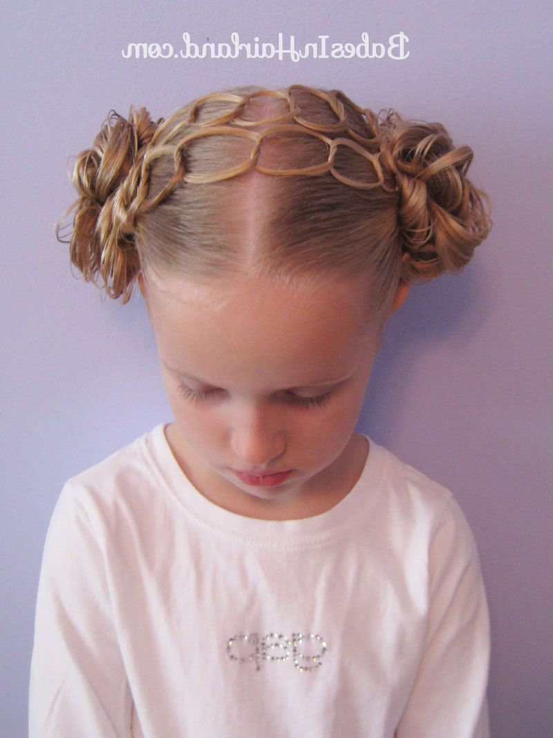 Double Chain Headband & Messy Buns (View 3 of 20)