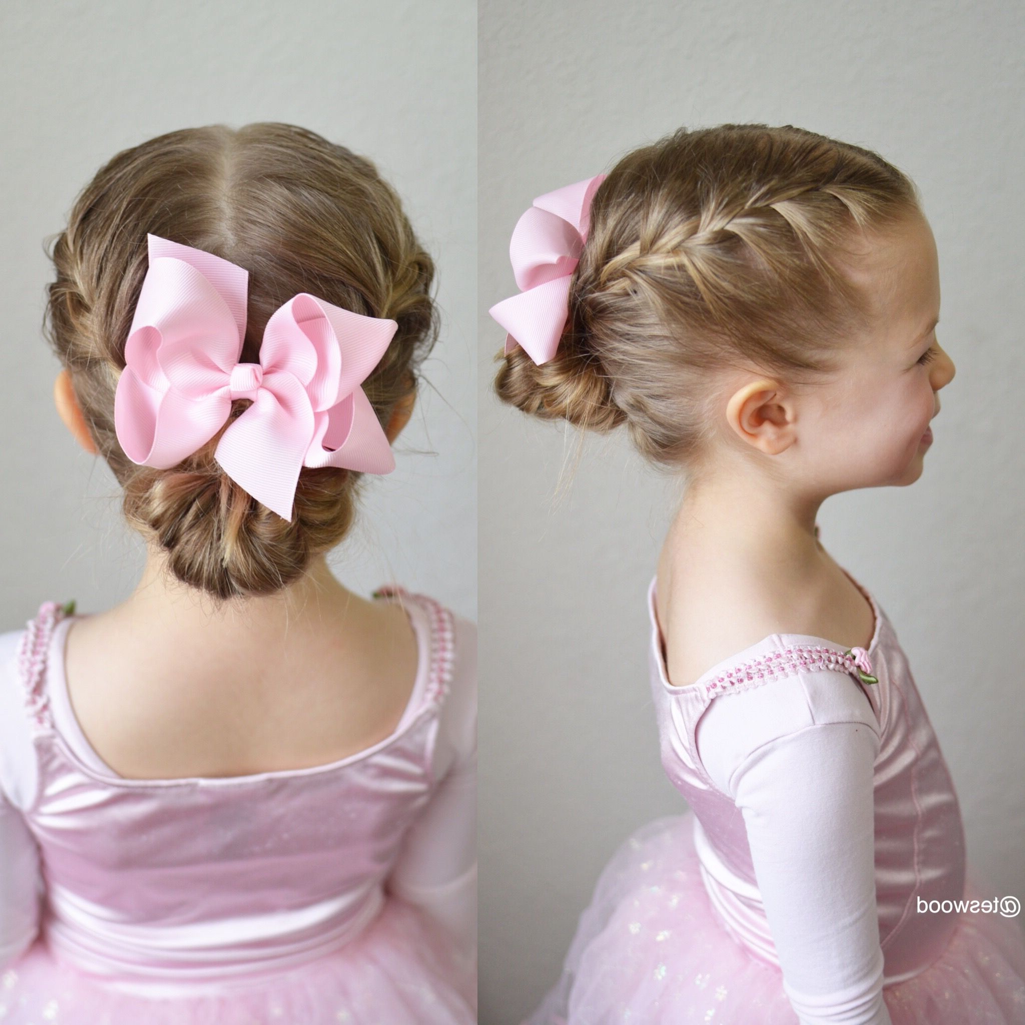 Double French Braids Into A Messy Bun (View 18 of 20)