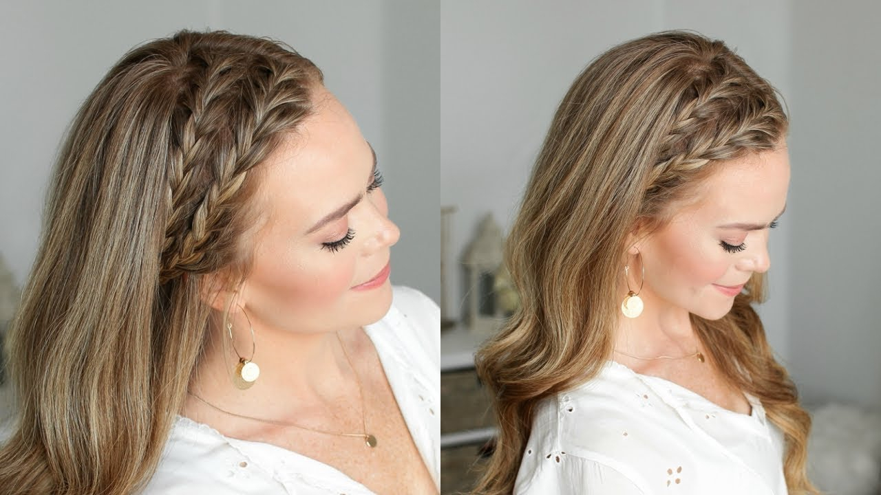 Double French Headband Braids (Gallery 3 of 20)