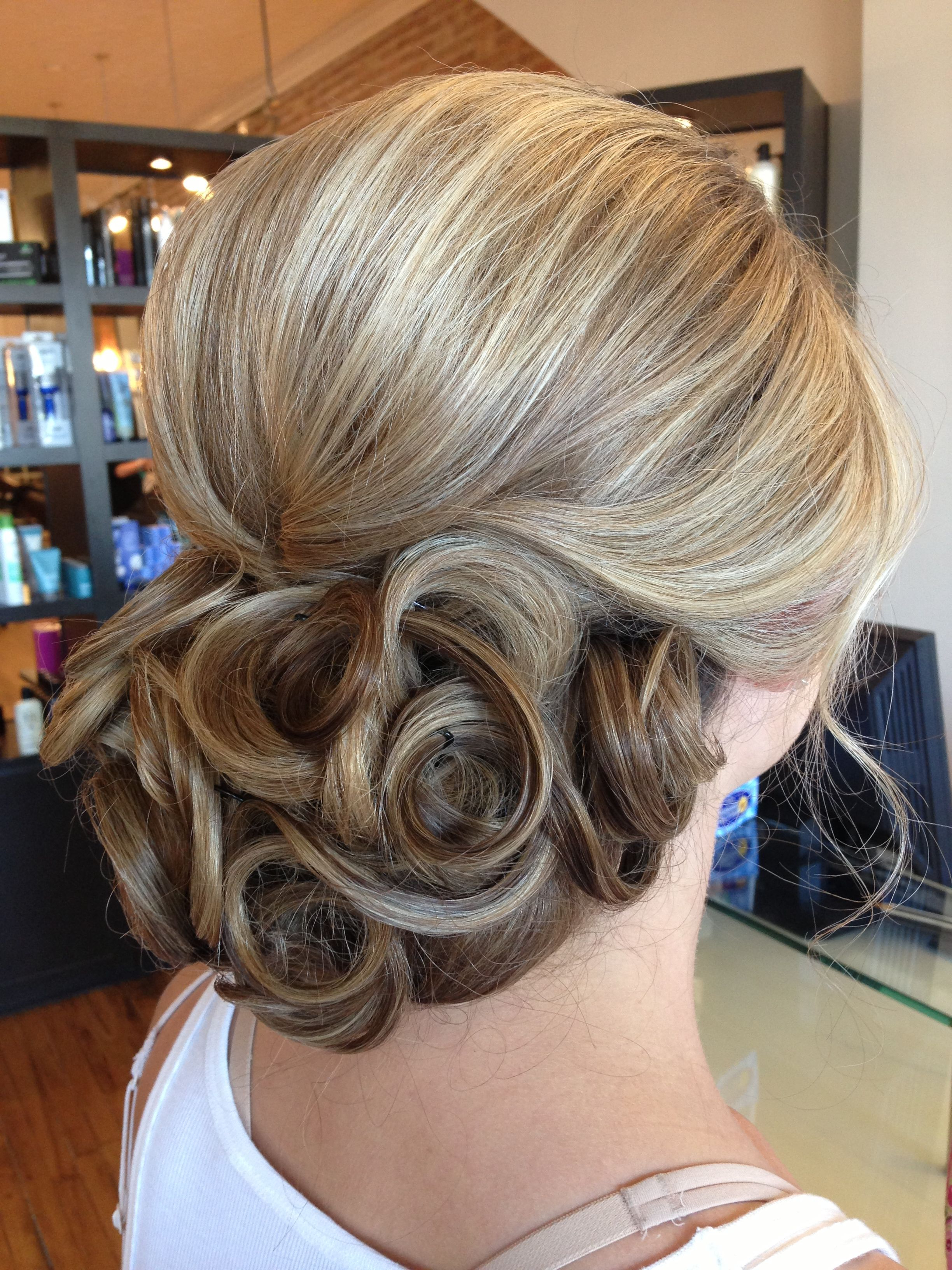 Down Hairstyles Throughout Recent Swirl Bun Updo Hairstyles (Gallery 2 of 20)