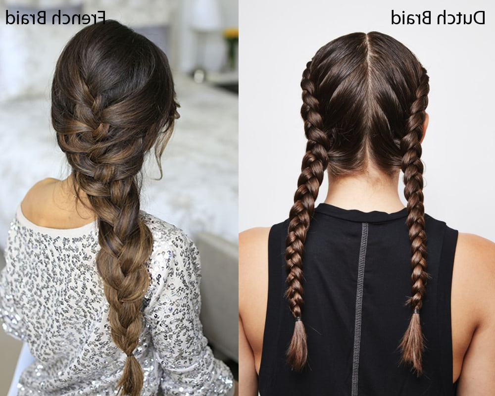 Dutch Braid Vs. French Braid – What Are The Differences? With Regard To Trendy 3D Mermaid Plait Braid Hairstyles (Gallery 12 of 20)