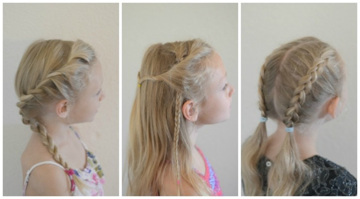 Easy Back To School Hair Braid Tutorials – Momtrends Pertaining To Well Known Double Rapunzel Side Rope Braid Hairstyles (View 10 of 20)