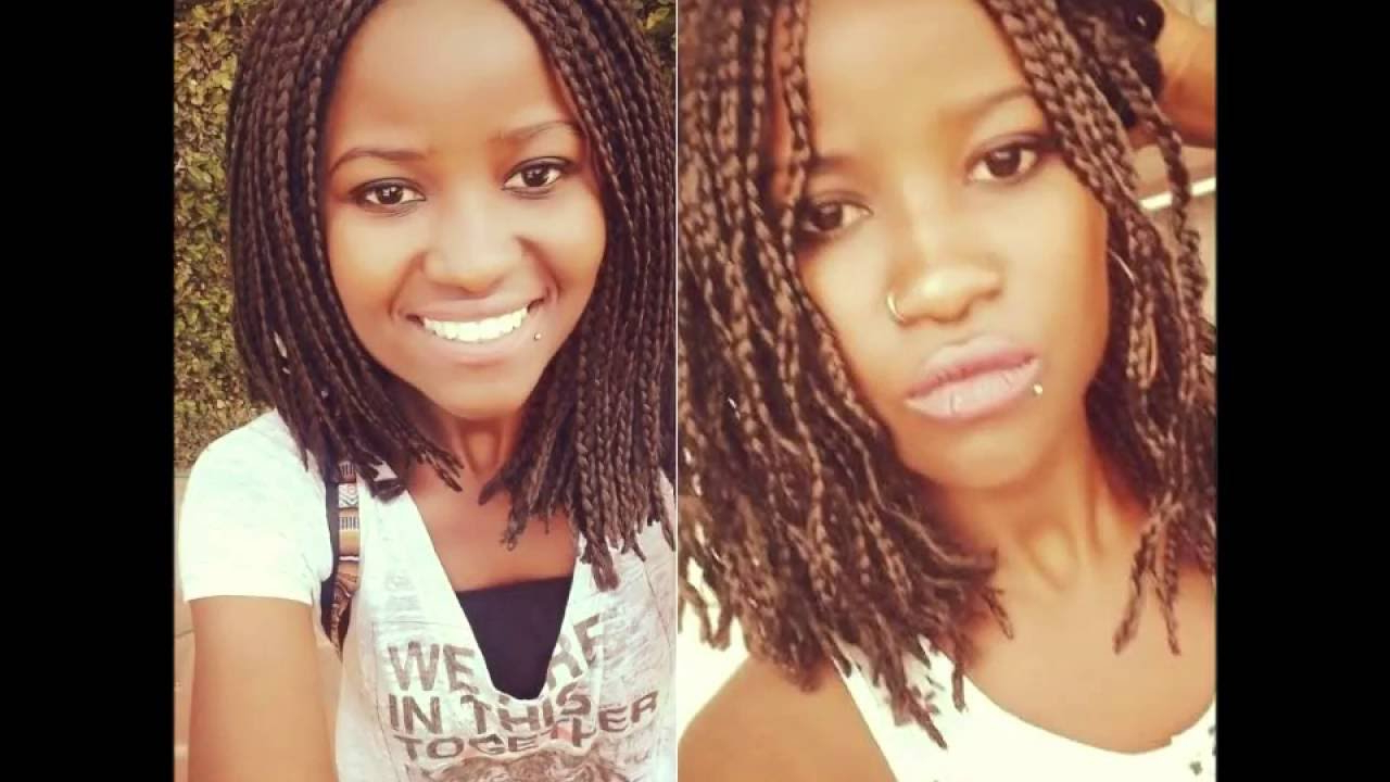 Famous Bumped And Bobbed Braided Hairstyles Within How To Curl Bob Box Braids (View 8 of 20)