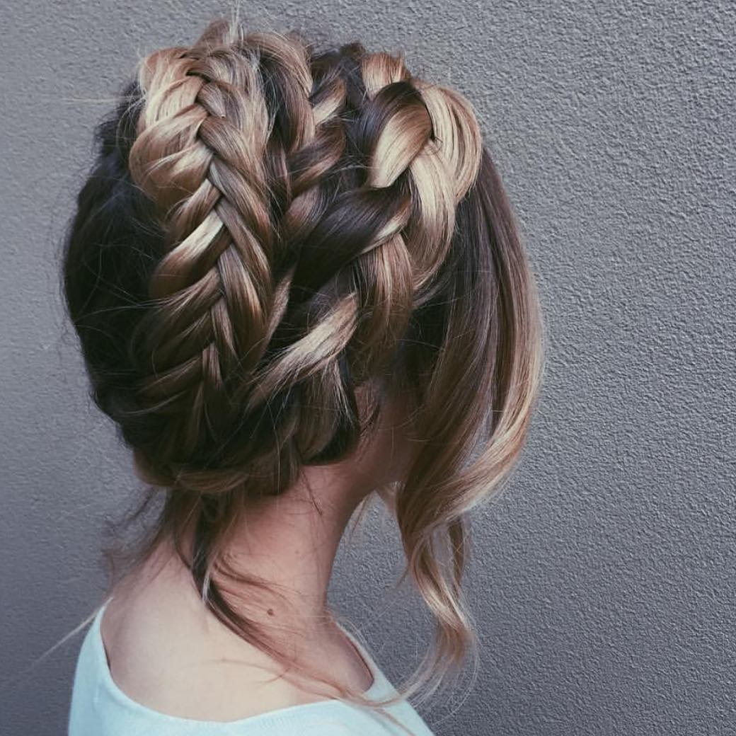 Famous Curvy Braid Hairstyles And Long Tails Pertaining To 10 Braided Hairstyles For Long Hair – Weddings, Festivals (View 5 of 20)