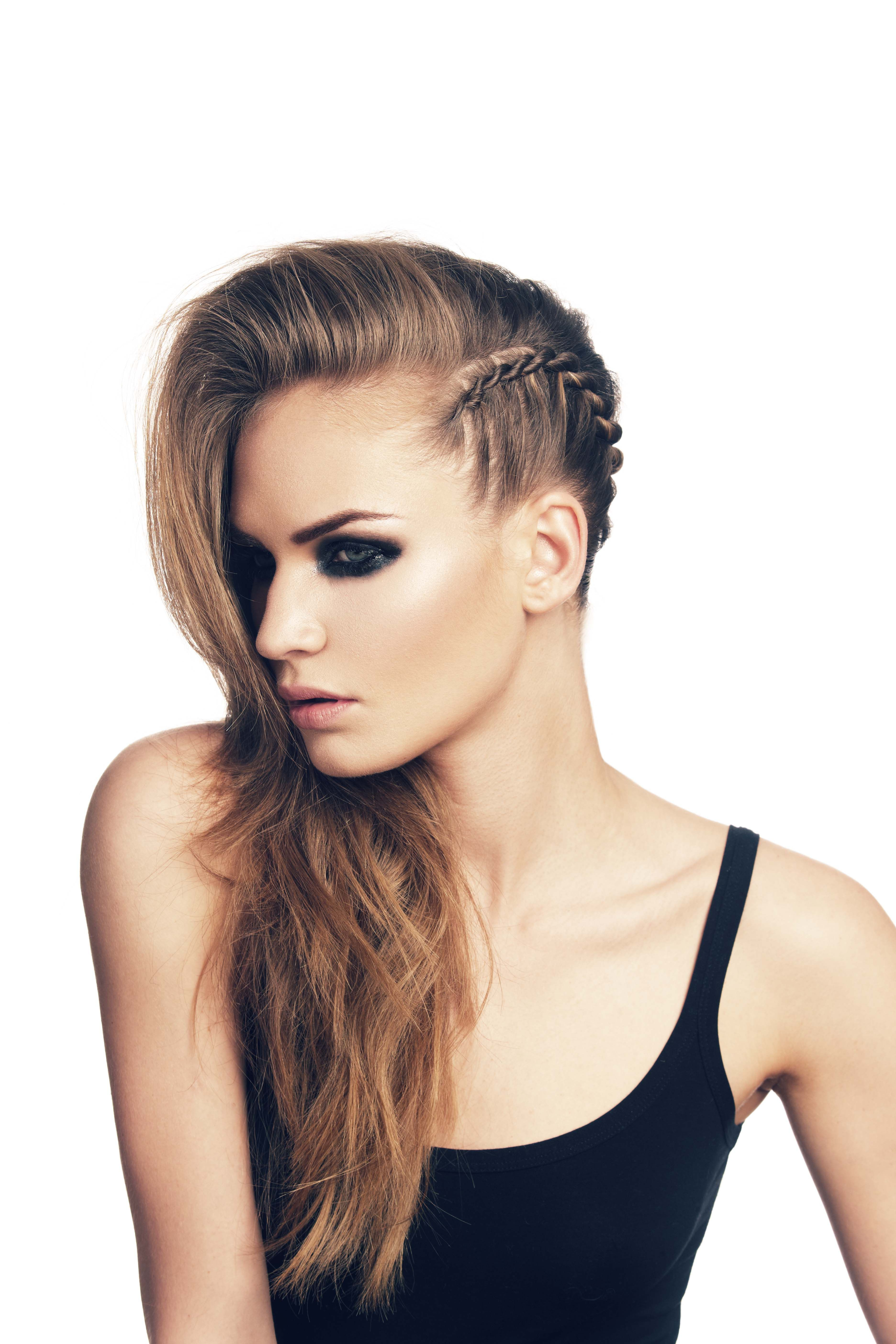 Famous Faux Undercut Braided Hairstyles Pertaining To 15 Beautifully Chic Punk Hairstyles (Gallery 3 of 20)