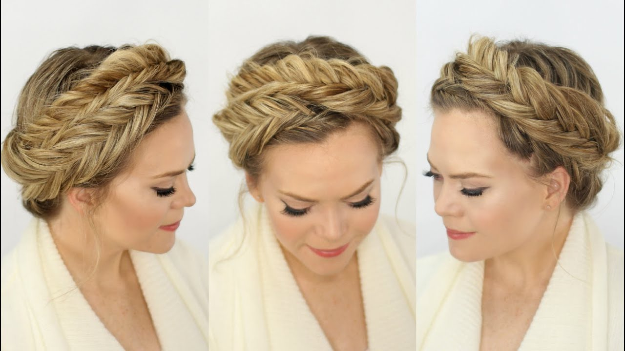 Featured Photo of Fishtail Crown Braided Hairstyles