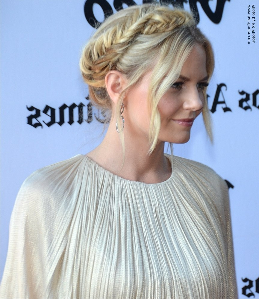 Famous Medieval Crown Braided Hairstyles Within Jennifer Morrison (View 8 of 20)