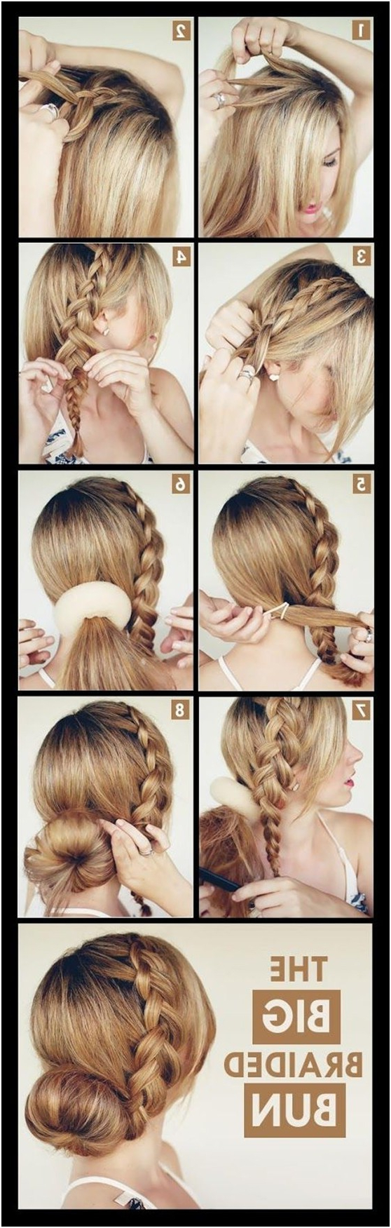 Famous Messy Rope Braid Updo Hairstyles Throughout 15 Braided Updo Hairstyles Tutorials – Pretty Designs (View 12 of 20)