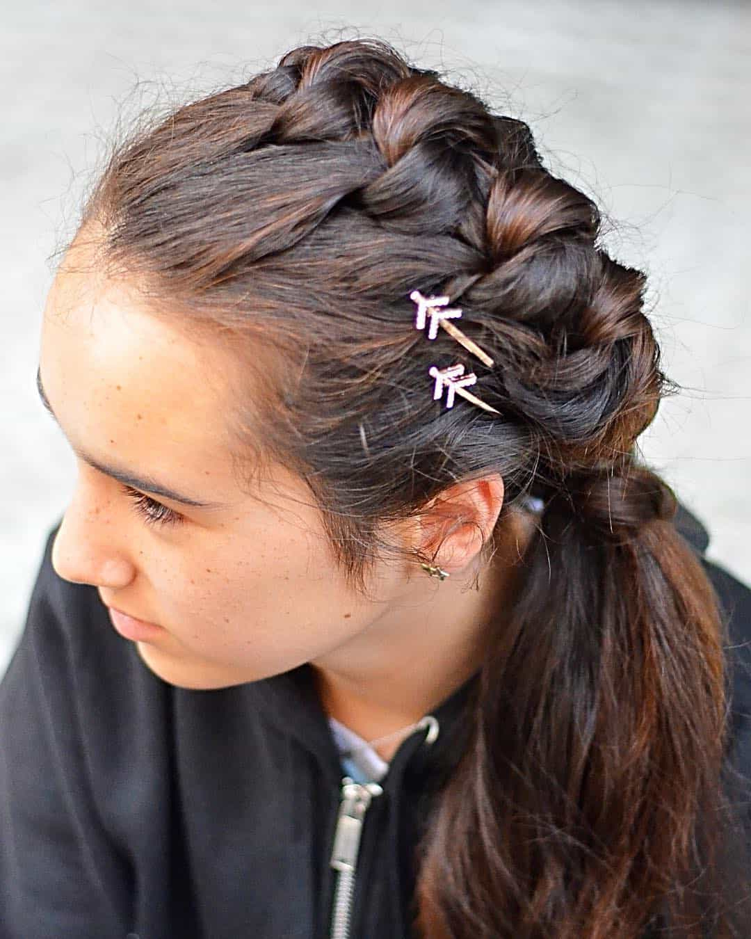 Famous One Side Braided Hairstyles With 25 Side Braid Hairstyles Which Are Simply Spectacular – Wild (View 5 of 20)
