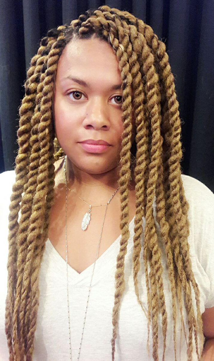 Famous Pastel Colored Updo Hairstyles With Rope Twist Regarding 25 Stylish Marley Twist Hairstyles You Should Try Now (View 14 of 20)