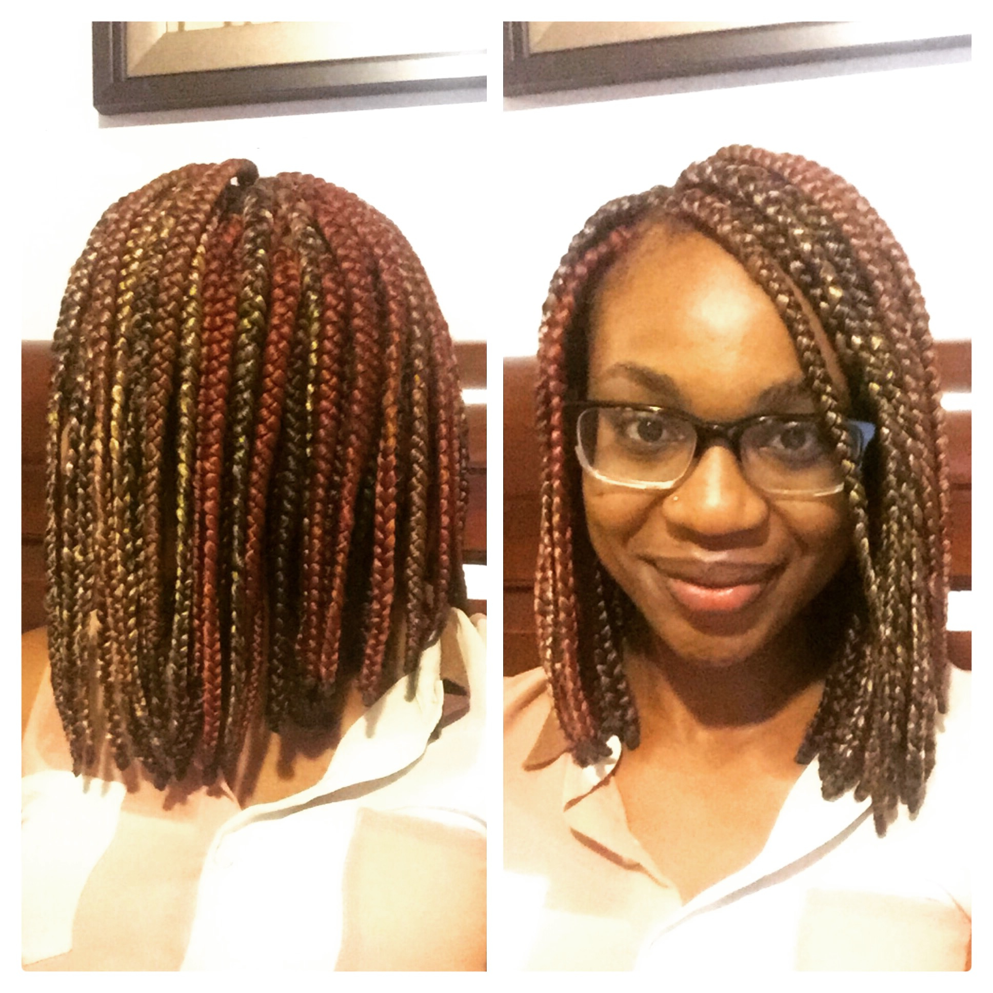 Famous Two Tone Tiny Bob Braid Hairstyles Pertaining To 3 Tips To Ensure Proper Care For Natural Hair Underneath Box (View 5 of 20)