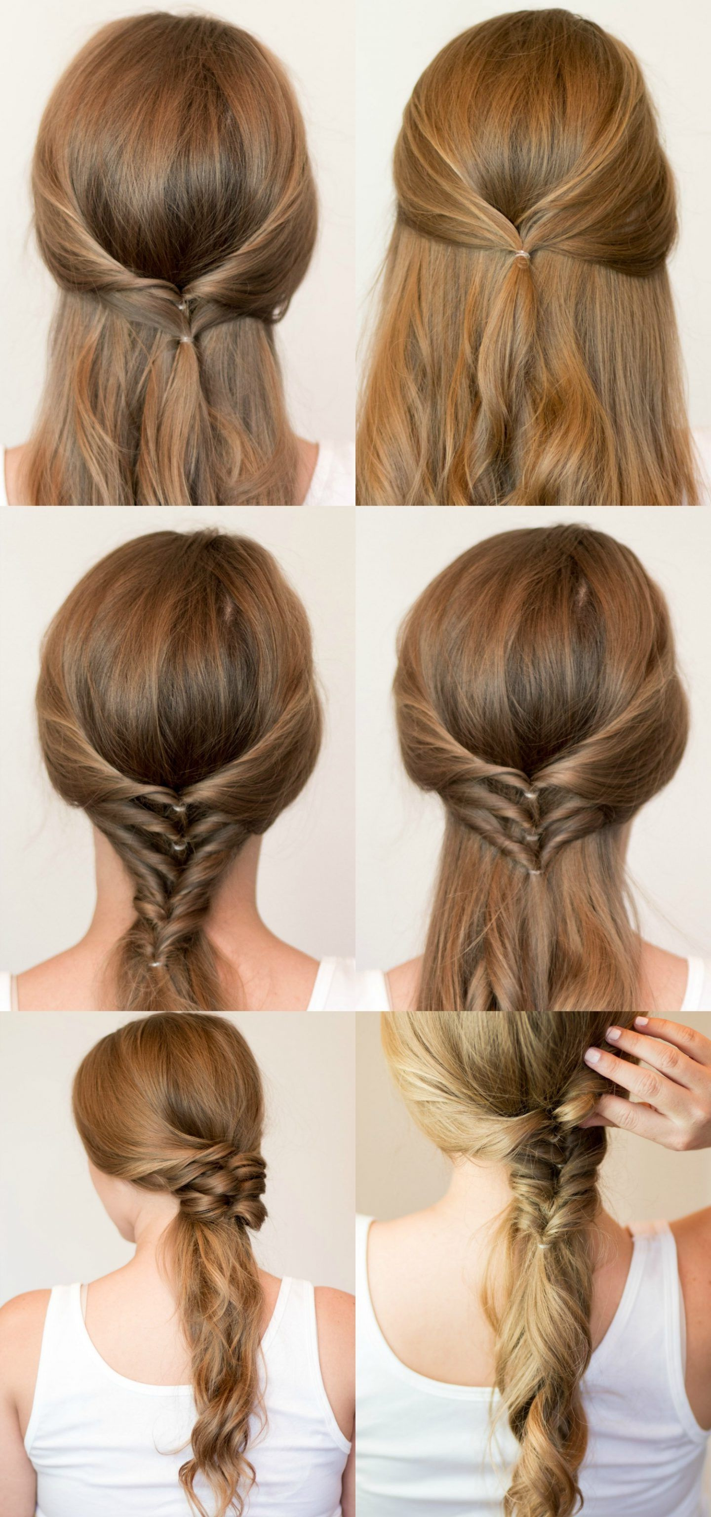 Fashion : Excellent Ponytail Fishtail Braid Hairstyles Within Well Known Ponytail Fishtail Braided Hairstyles (View 4 of 20)