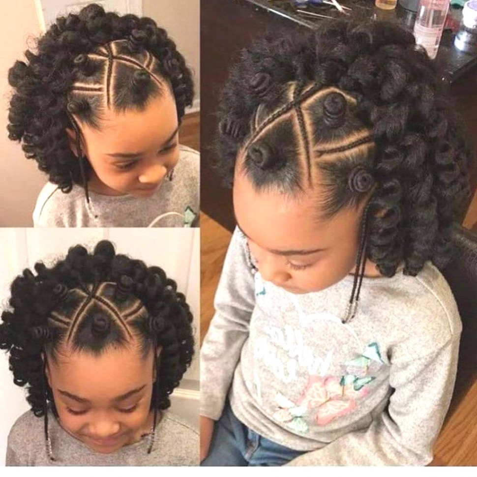 Fashion : Kids Braided Hairstyles Engaging 6 Braids Inside Well Liked Mohawk Braided Hairstyles With Beads (View 16 of 20)
