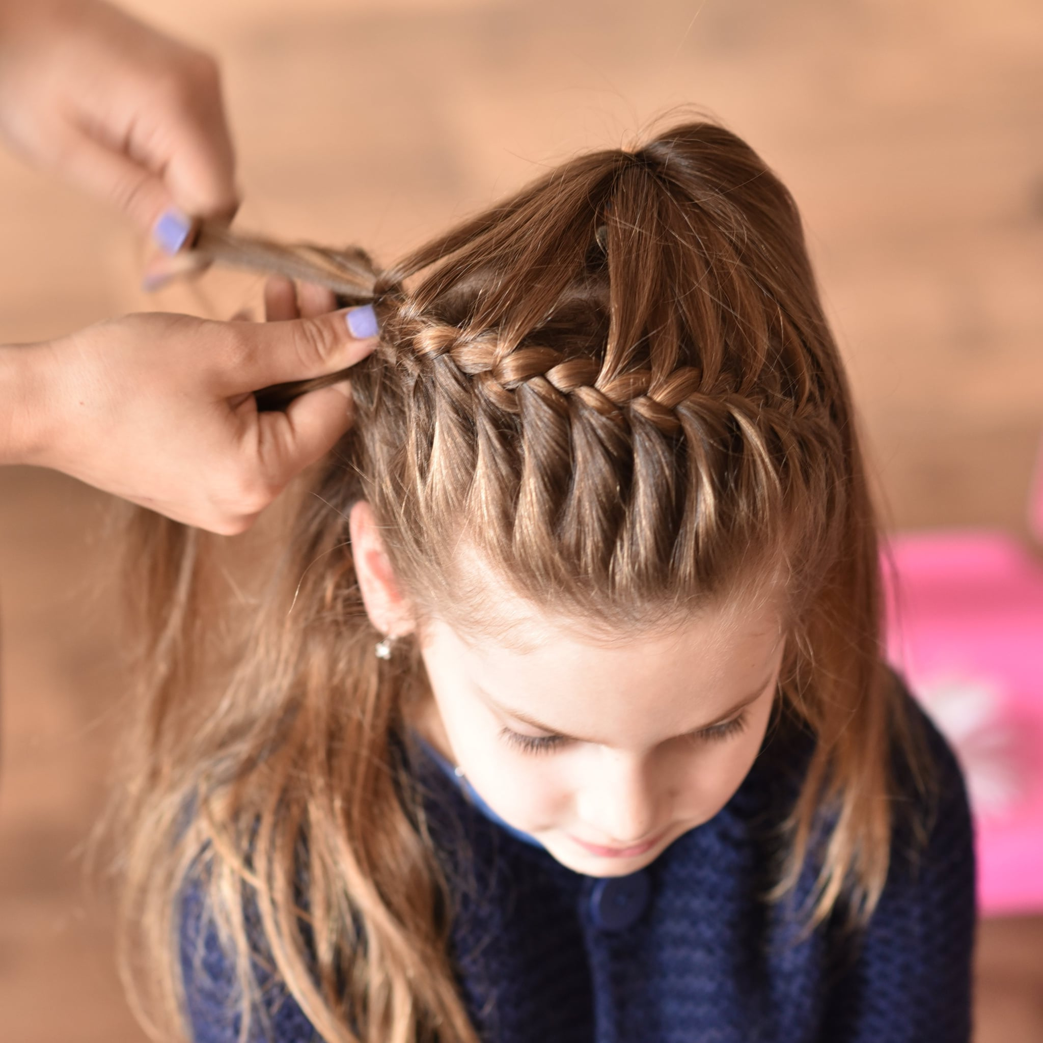 Fashionable Asymmetrical French Braided Hairstyles For Easy Hairstyles For Girls (View 13 of 20)