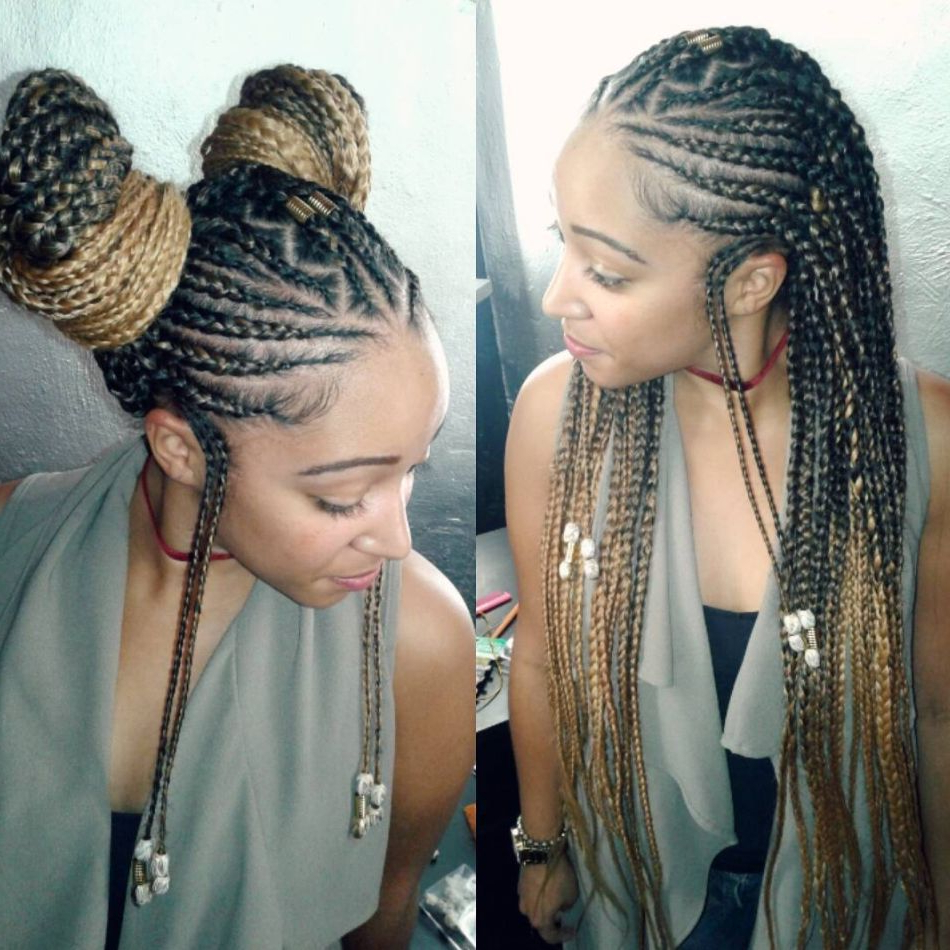 Fashionable Diamond Goddess Lemonade Braided Hairstyles For Proof That Waist Length Braids Are More Popular Than Ever (View 6 of 20)