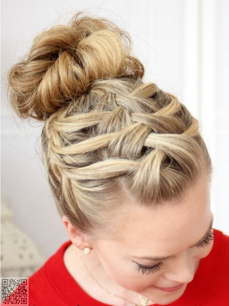 Fashionable Fancy Braided Hairstyles Inside (View 11 of 20)