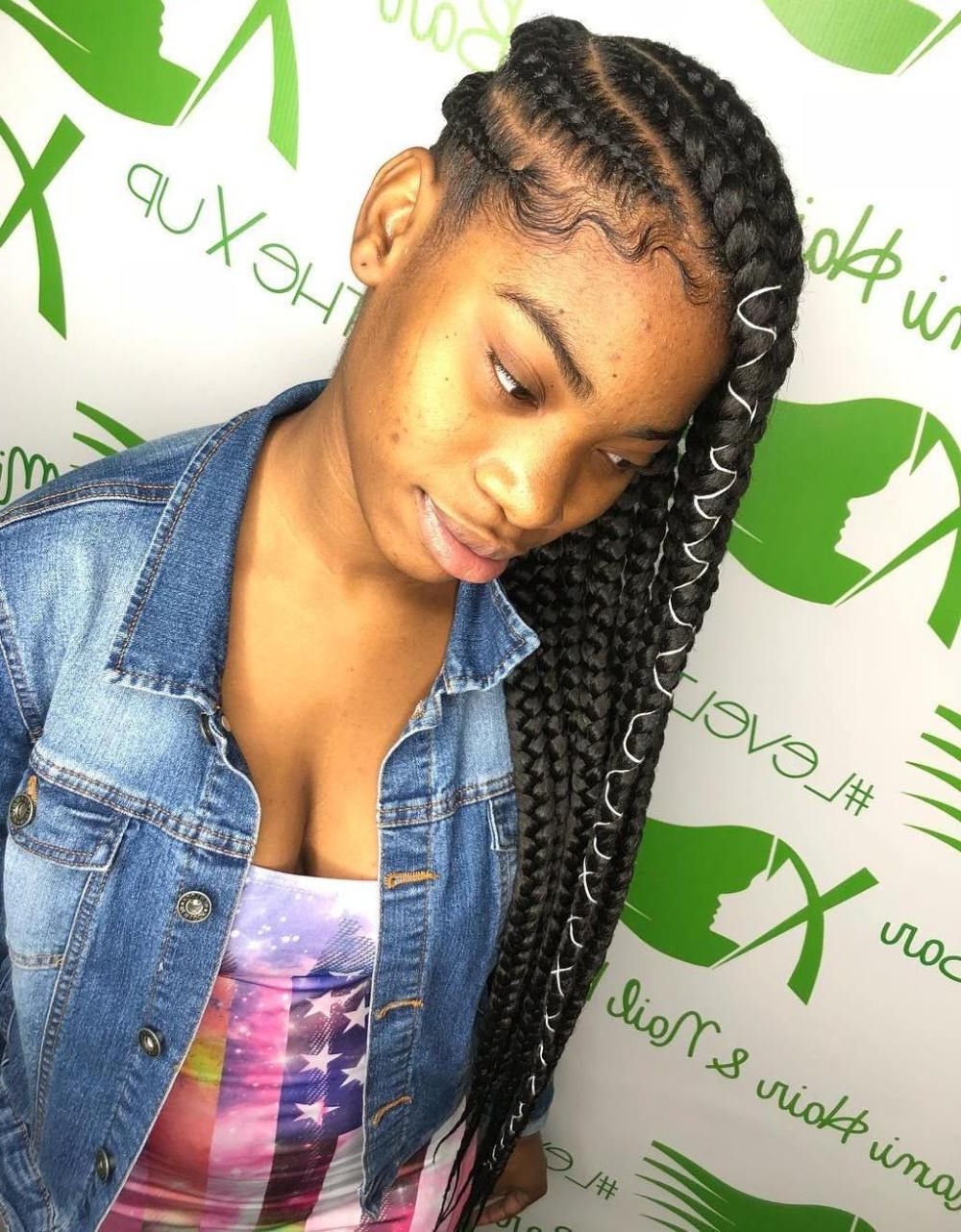Featured Photo of Forward Braided Hairstyles With Hair Wrap